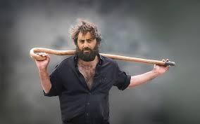 Good Cretans, man with shepherd hook